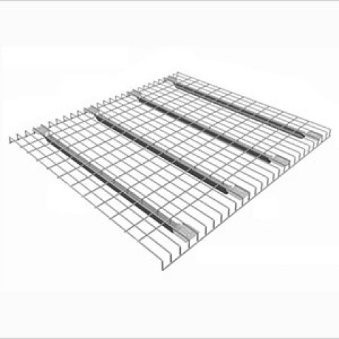 Flared Style Wire Mesh Decking