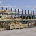 HOT GALV. CANTILEVER RACKING – HEAVY DUTY